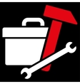 Toolbox Icon vector image vector image