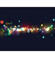 Colourfull bokeh background vector image