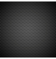 Background with Seamless Black Carbon Texture vector image vector image