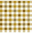 gold gingham mix seamless pattern vector image vector image