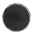 Grunge circle stamp