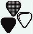 Guitar plectrum vector image
