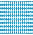 Oktoberfest Bavarian flag symbol background vector image