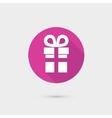 present gift box icon flat design for web vector image