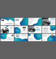 presentation and slide layout background design vector image vector image