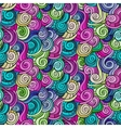 seamless colored abstract pattern vector image