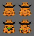 the halloween vector image vector image