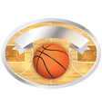 Basketball Badge and Banner vector image vector image