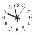 Clock design vector image vector image
