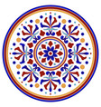 colorful decorative round vector image vector image