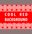 cool background with border vector image vector image