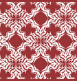 seamless damask pattern background vector image vector image