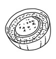 soupe a l oignon icon doodle hand drawn or vector image