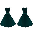 women dress vector image vector image