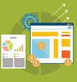 Search Engine Optomization Marketing vector image