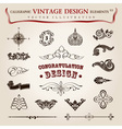 Calligraphic vintage elements vector | Price: 1 Credit (USD $1)