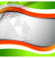 curve background template vector image vector image