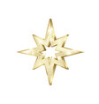 golden star scatter glitters gold star with vector image