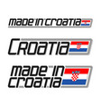 Made in croatia
