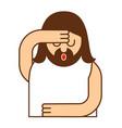 omg christos emoji oh my god jesus emotion vector image vector image