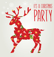 Poster Merry Christmas vector image vector image