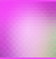 purple green pink rows of triangles background vector image vector image