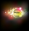 Abstract colorful night vector image