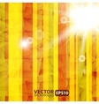 Abstract Striped Background With Sunburst Flare vector image