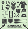 Baseball Objects and Icons