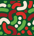 christmas abstract handdrawn background vector image vector image
