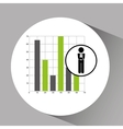 Concept stock exchange market graphics growth icon