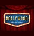 creative of bollywood cinema vector image