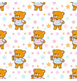 funny cartoon bears vector image