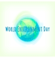 Go Green of mother earth vector image vector image