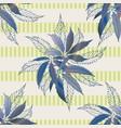 marijuana leaves seamless pattern vector image vector image