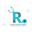 r letter logo veto