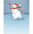 Snowman1 vector image