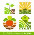 symbols Farm vector image vector image