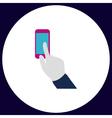 Use phone computer symbol vector image