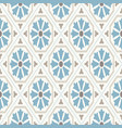 vintage wallpaper modern geometric pattern vector image