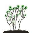 Plant logo vector image
