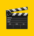 creative of 3d realistic movie vector image