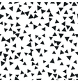 Triangle geometric background vector image