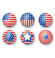 banners for usa independence day vector image vector image