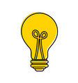 bulb light idea creativity innovation business vector image vector image