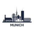 Munich skyline emblem
