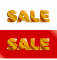 set of color sale banners vector image