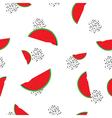 Watermelon seamless pattern for your business vector image