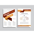Brochure design layout vector image vector image