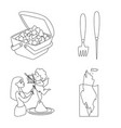 design of clean and wet symbol collection vector image vector image